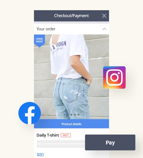 Reach more platforms with a Buy Now URL