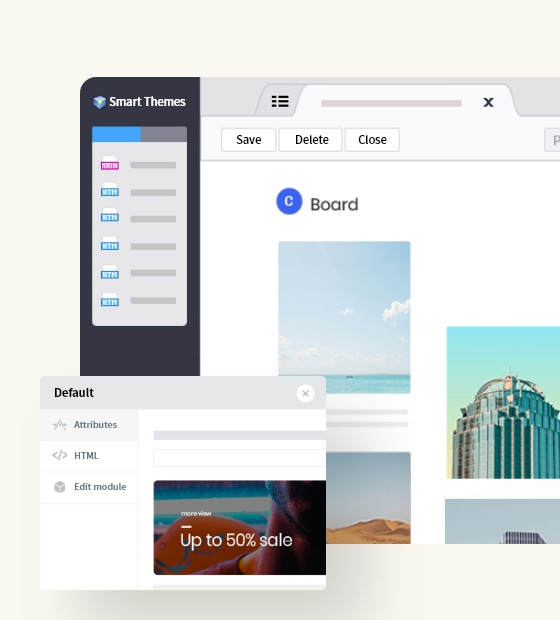 Try Smart Themes